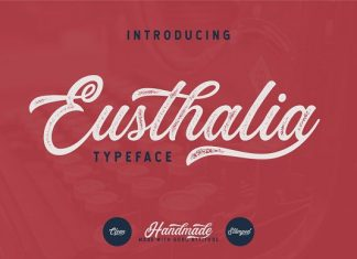 Eusthalia Typeface Font