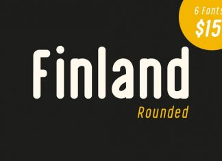 Finland Rounded - Font Family