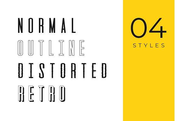 GATSBY - Unique Display Typeface