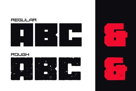 Gore Typeface Font