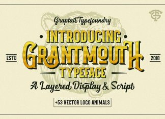 Grantmouth Font Duo + Extras Family