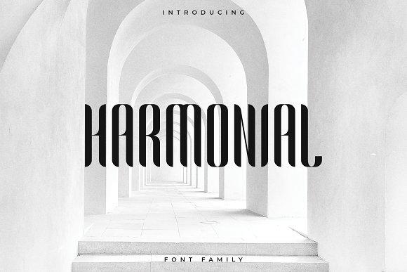 Harmonial Font Family - Sans Serif
