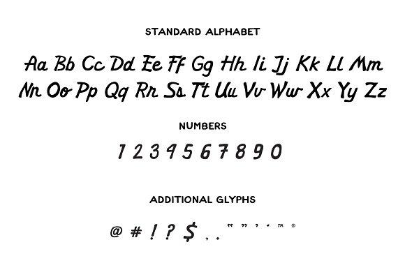 Homestead - Vintage Athletic Script