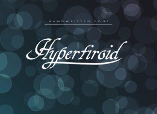 Hypertiroidb Script Font