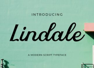 Lindale Script Font