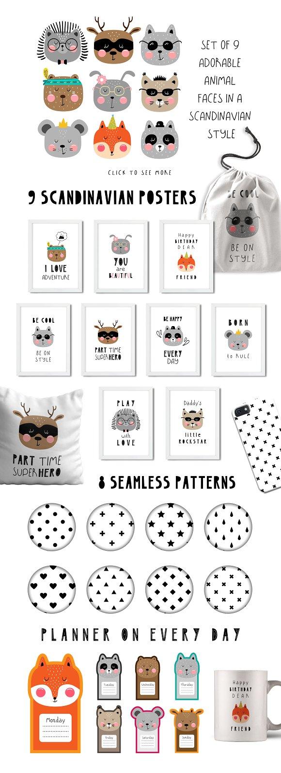 LittleBear & LittleMouse - Font Duo