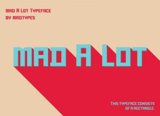Mad A Lot Font