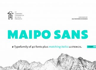 Maipo Sans Font Family