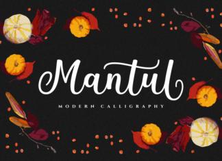 Mantul Font Script