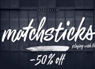Matchstick Script Font