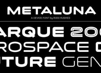 Metaluna Font Family