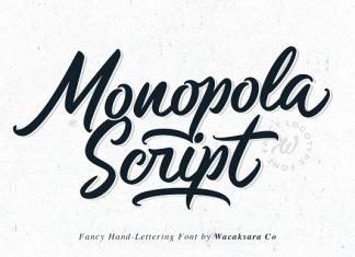Monopola Font Script