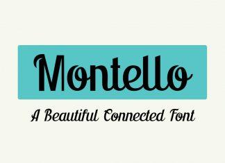 Montello Font Script
