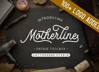 Motherline Vintage Toolbox Font