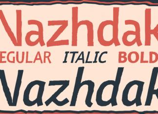 Nazhdak Font Family