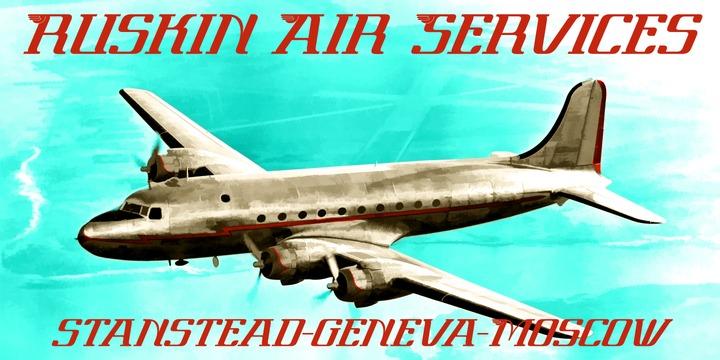 Par Avion Font Family