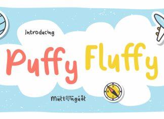Puffy Fluffy Font