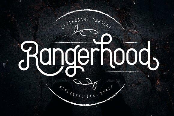 Rangerhood Font