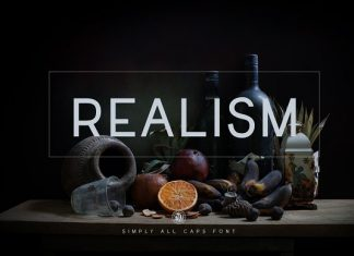 Realism Sans Serif Font