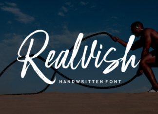 Realvish Script Font