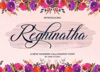 Reghinatha Script Font