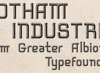 Rotham Industria Font
