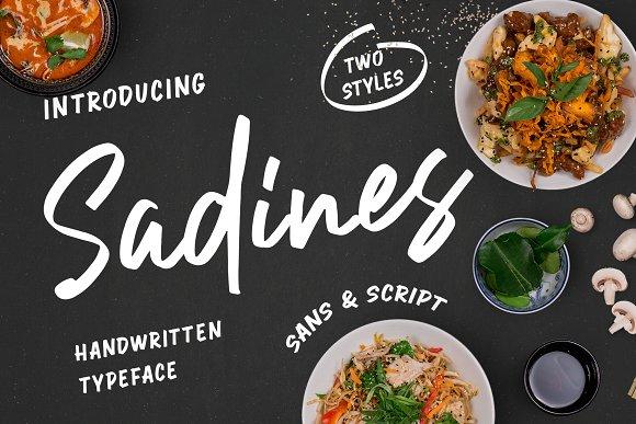 Sadines - Font Duo