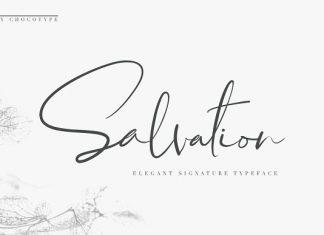 Salvation Script Font