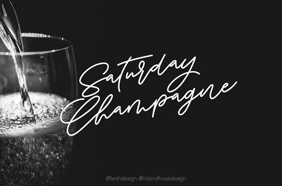 Saturday Champagne