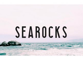 Searocks | A clean condensed font