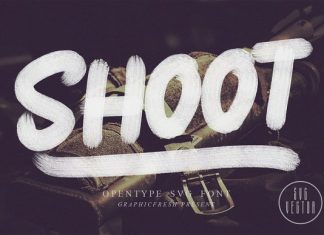 Shoot SVG Font