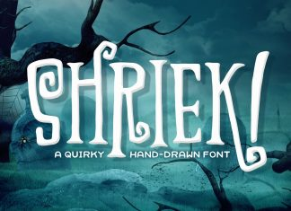 Shriek! FontRegular Font
