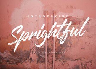 Sprightful Script Font