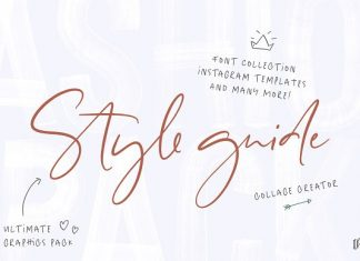 Style guide Font