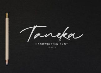 Taneka Handwritten Script Fon