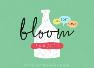 The Bloom Project Font