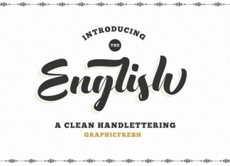 The English Font - Vintage Lettering