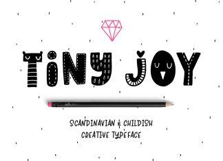 Tiny Joy Font - Scandinavian & Kids Script Font