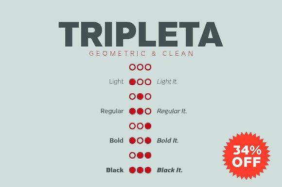 Tripleta Grotesk Font Sans Serif