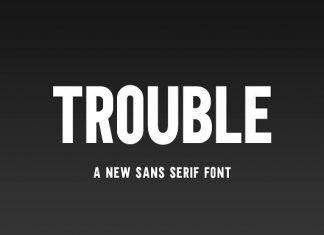 Trouble Font