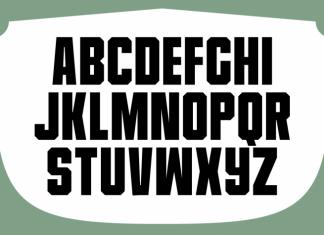 Universitet Font