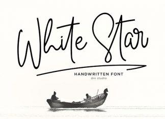 White Star - Chic Handwritten Font