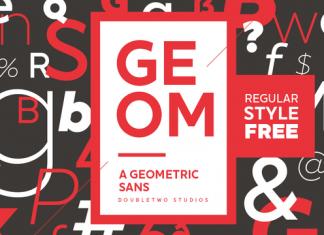 XXII Geom Font Scrip