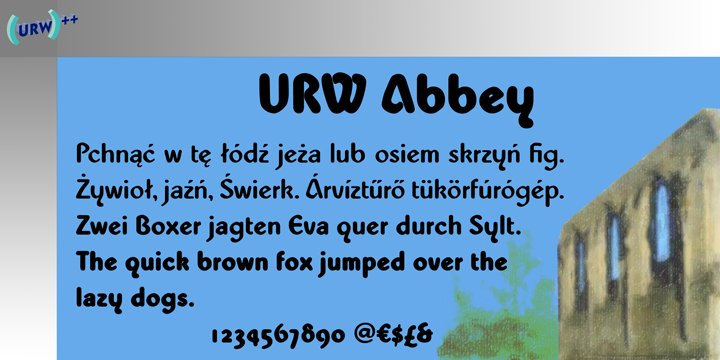 Abbey Font Family