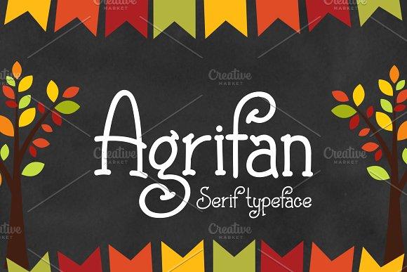 Agrifan Script Font