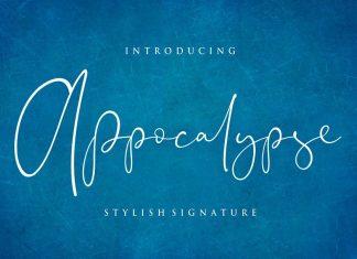 Appocalypse Signature Font