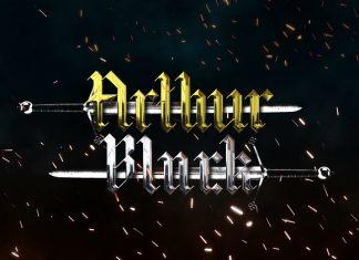 Arthur Black: Modern Black Letter