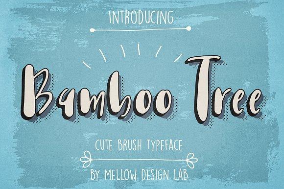 Bamboo Tree Font