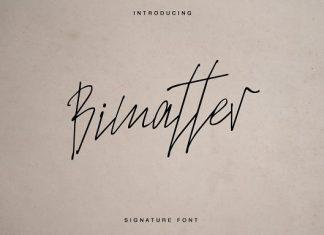 Bimatter Script Font