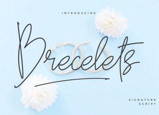 Brecelets Signature Font